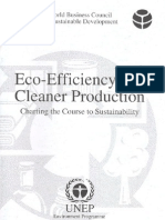 Eco Efficiency and Cleaner Production