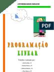 A Programação Linear