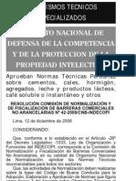 NORMAS TEC PERUANAS