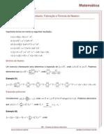 Fatoração e Fórmula de Newtom