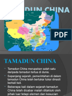 TAMADUN CHINA LECTURE