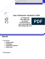 Lori Phillips - Use of Genomic Variants in i2b2