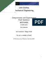 MECH4406 Outline