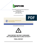 PET recycling report 2009