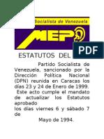ESTATUTOS  DEL MEP (1)
