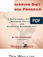 Warrior Diet Fat Loss Plan