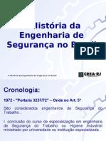 A história da Engenharia de Segurança no Brasil