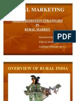 Sale Promotion Strategies in RURAL MARKETING by Vikas