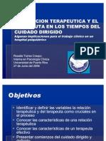 EL TERAPEUTA Y LA RELACION TERAPEUTICA 2