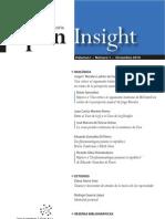 Open Insight Vol. I, n.1, diciembre 2010