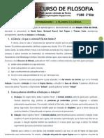 Apostila de Filosofia - 1є Ano - 3є Bim - 2010
