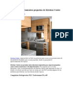 Kit para departamentos pequeños de Kitchen Center