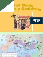 Edad Media Occidental y Oriental