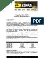 Redes Sem Fio - Wi-Fi (Configuração da Rede com modem 3G)
