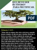 16_SÉRIE PORQUE DEVO SER FRUTÍFERO. CRIADOS PARA FRUTIFICAR 1