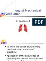 Physiology of Mechanical Ventilation