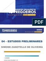 PPT - Estudos preliminares