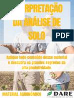 Interpretação da análise de solo