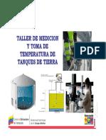 TALLER DE MEDICION DE TANQUES DE TIERRA