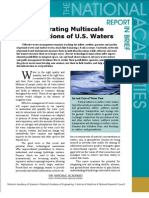 Integrating Multiscale Observations of U.S. Waters, Report In Brief
