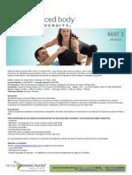 Certificación Internacional de PILATES - Balanced Body