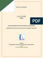 """""""20 e oltre"""", Silloge di Mauro Barbetti"""