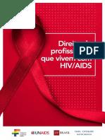 Cartilha Direito de Profissionais Que Vivem Com HIV AIDS 1