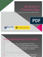 BSc(hons) in Pharmacology