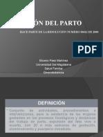ATENCIÓN DEL PARTO RESOLUCIÓN 412
