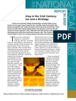 Toxicity Testing in the 21st Century, Report In Brief