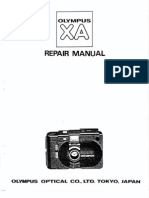 Olympus XA Repair Manual