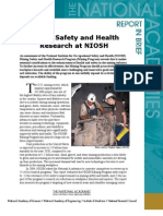 Mining Safety and Health Research at NIOSH, Report in Brief