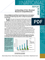 International Benchmarking of U.S. Chemical Engineering Research Competitiveness, Report In Brief