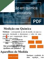 M1- medição em quimica -lab