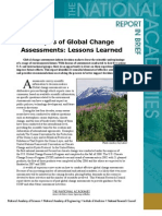 Analysis of Global Change Assessments, Report in Brief