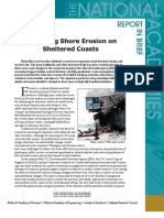 Mitigating Shore Erosion along Sheltered Coasts, Report In Brief