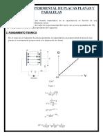 LAB CAPACITOR EXPERIMENTAL DE PLACAS PLANAS Y PARALELAS FISICA 3