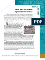 Facing Hazards and Disasters, Report In Brief