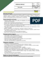 OS-01 (R.01) - Almoxarife - Modelo
