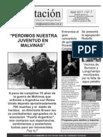Periódico La ESTACIÓN  Nº 7 Abril