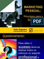 marketing  Pessoa lPrincipios Para O Sucesso by Cleber