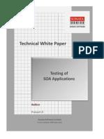 Testing of SOA Applications