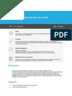 Programme Pilotage et tableaux de bord de la DSI
