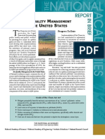 Air Quality Management in the United States, Report in Brief