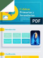 Cefaleas Primarias y Secundarias 1.5