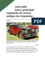 Autoclásica, carros antigos da Argentina