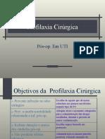 Profilaxia Cir. em UTI