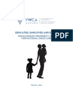 YWCA National Child Care Report 2011