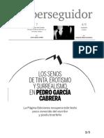 El perseguidor 40 - revista de limba spaniola din Tenerife0