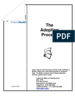 california report of adoption